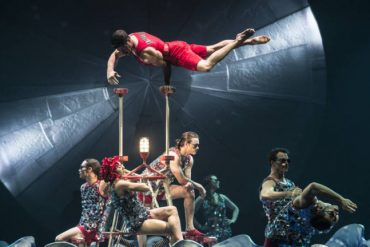 "KQED (Bay Area), ""Cirque Du Soleil and Kinetic Arts Fall Deep Into the Dark Pleasures Of Circus"""