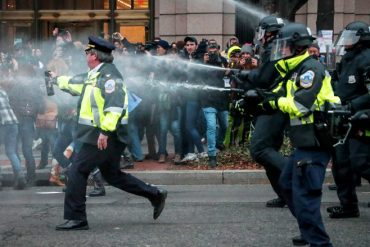 Inauguration Day Protesters Decry Superseding Indictment Charging Them Each With Several More Felonies