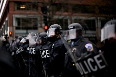 "The Washington Post, ""ACLU sues D.C. police over arrests during inauguration disturbance"""