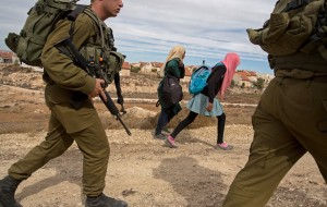 "Washington Post, ""In West Bank, Israeli troops still escort Palestinian children to school,"" November 1, 2014"