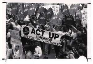 ACT UP cc-by-sa-nc NIH Library
