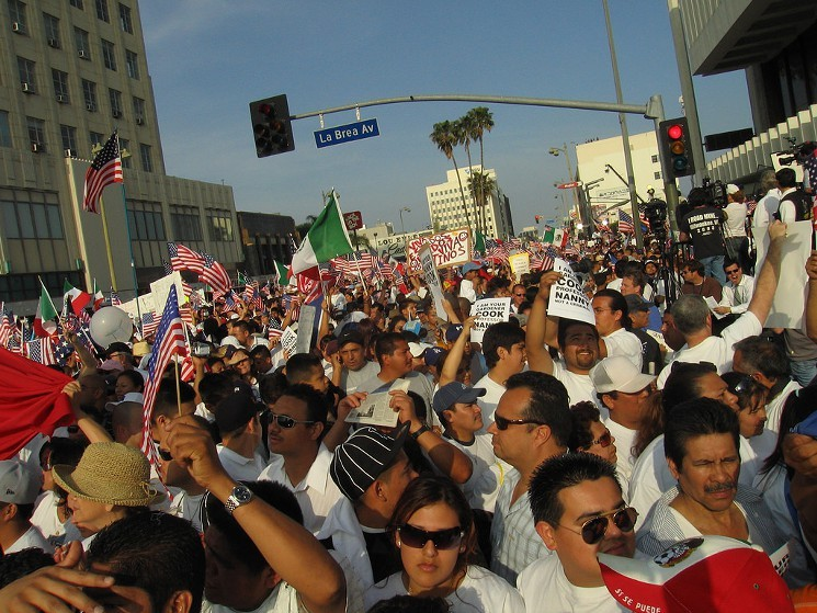 La Weekly How A Day Without A Mexican Inspired A May Day Movement