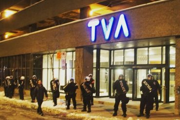 """subMedia.tv, """"Montreal: Anarchists clash with police"""""""